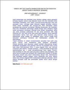 thesis audit lingkungan Visi visi program studi s2 ilmu lingkungan adalah menjadi institusi yang menghasilkan magister dalam bidang amdal dan audit lingkungan: spsil 6112: 2: wa,b,c.