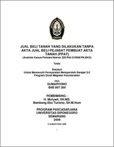 judul thesis