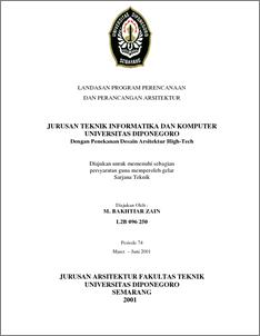 Jurusan Teknik Informatika Dan Komputer Universitas Diponegoro Diponegoro University Institutional Repository Undip Ir