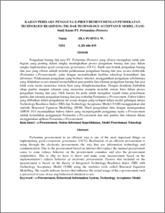 thesis on technology acceptance model Using the utaut model to determine factors affecting acceptance and use of e in the thesis itself acceptance and use of technology (utaut) model.